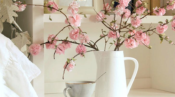 Easy diy paper flowers purewow these are the loveliest and easiest diy flowers mightylinksfo