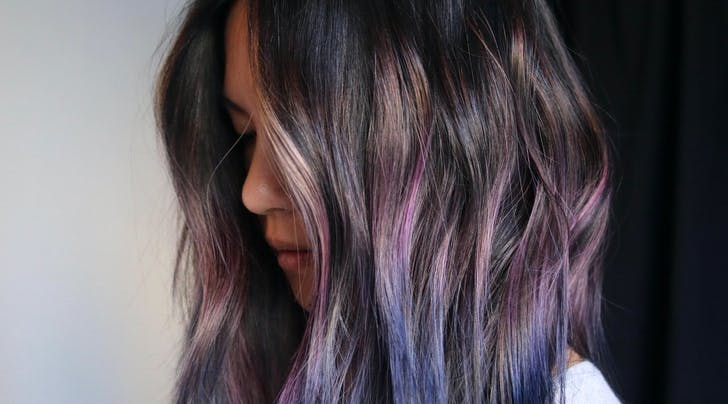 PSA: Geode Hair Color Is the Prettiest Trend for Spring