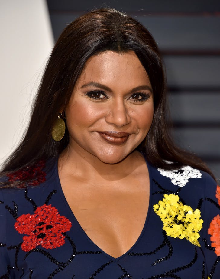 MINDY KALING LIPS