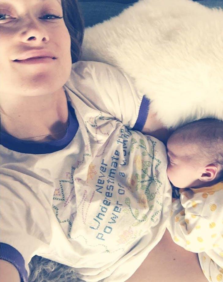 Celebrity Breastfeeding Selfies Purewow