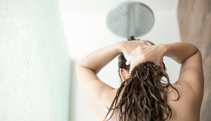 WASH HAIR DAILY