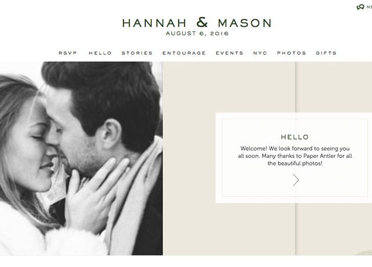 5 Ways To Make A Pretty Wedding Website Purewow
