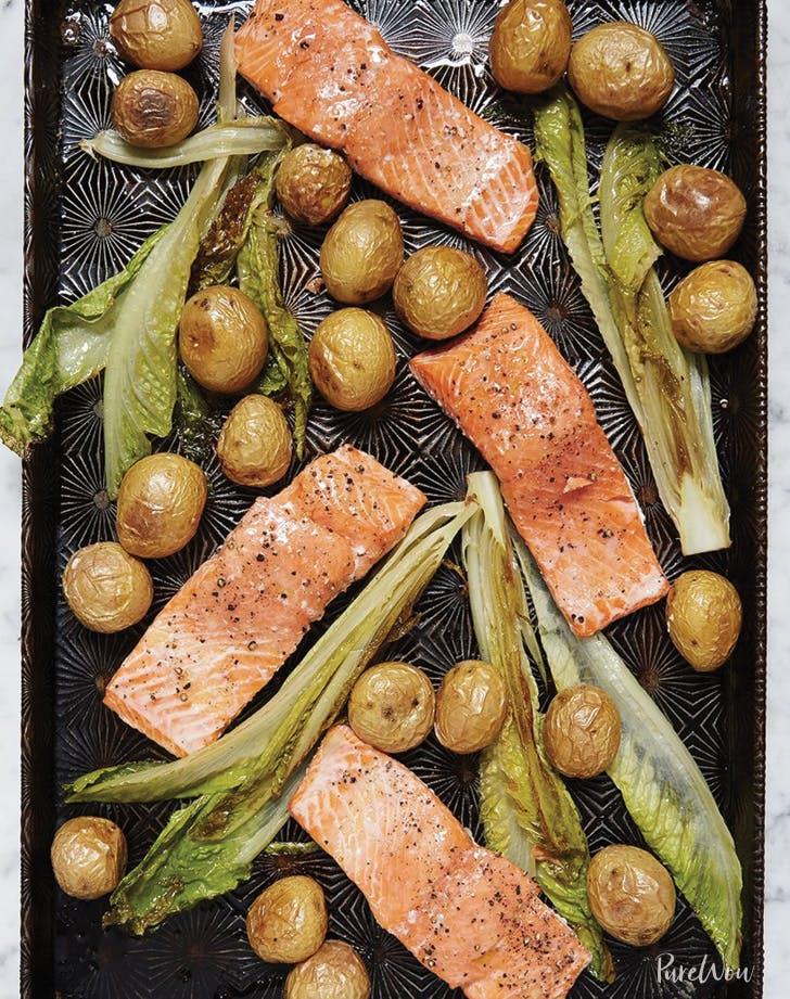 april dinner salmon
