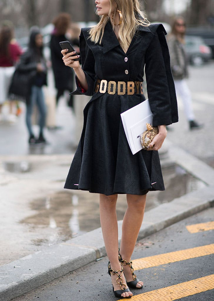 bf52893a289 How to Wear an All-Black Outfit with Style - PureWow