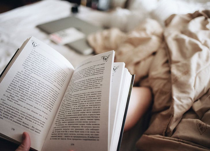 how to read a book a month purewow