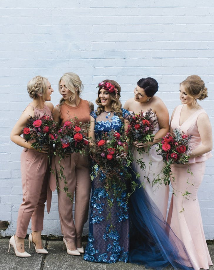 bridesmaid separates pants