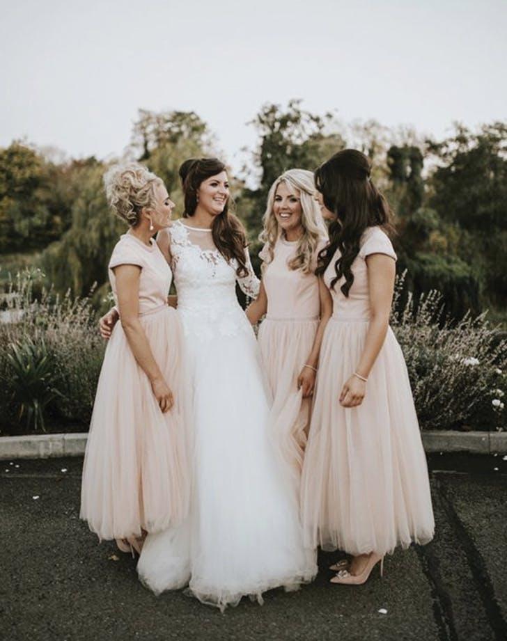 bridesmaid separates tshirt