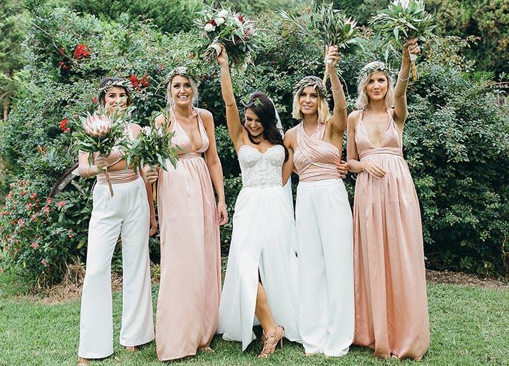 bridesmaids separates bodysuit