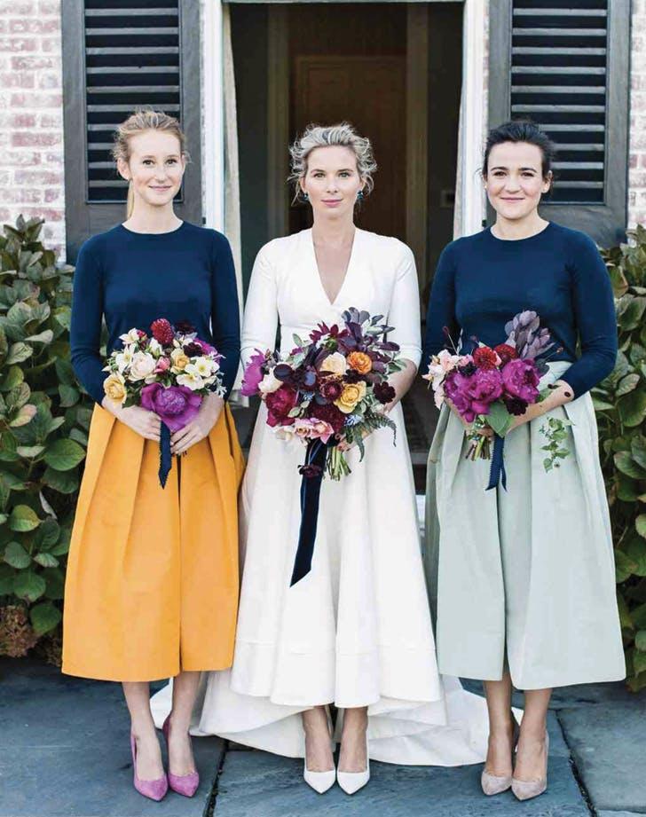 bridesmaids separates skirts