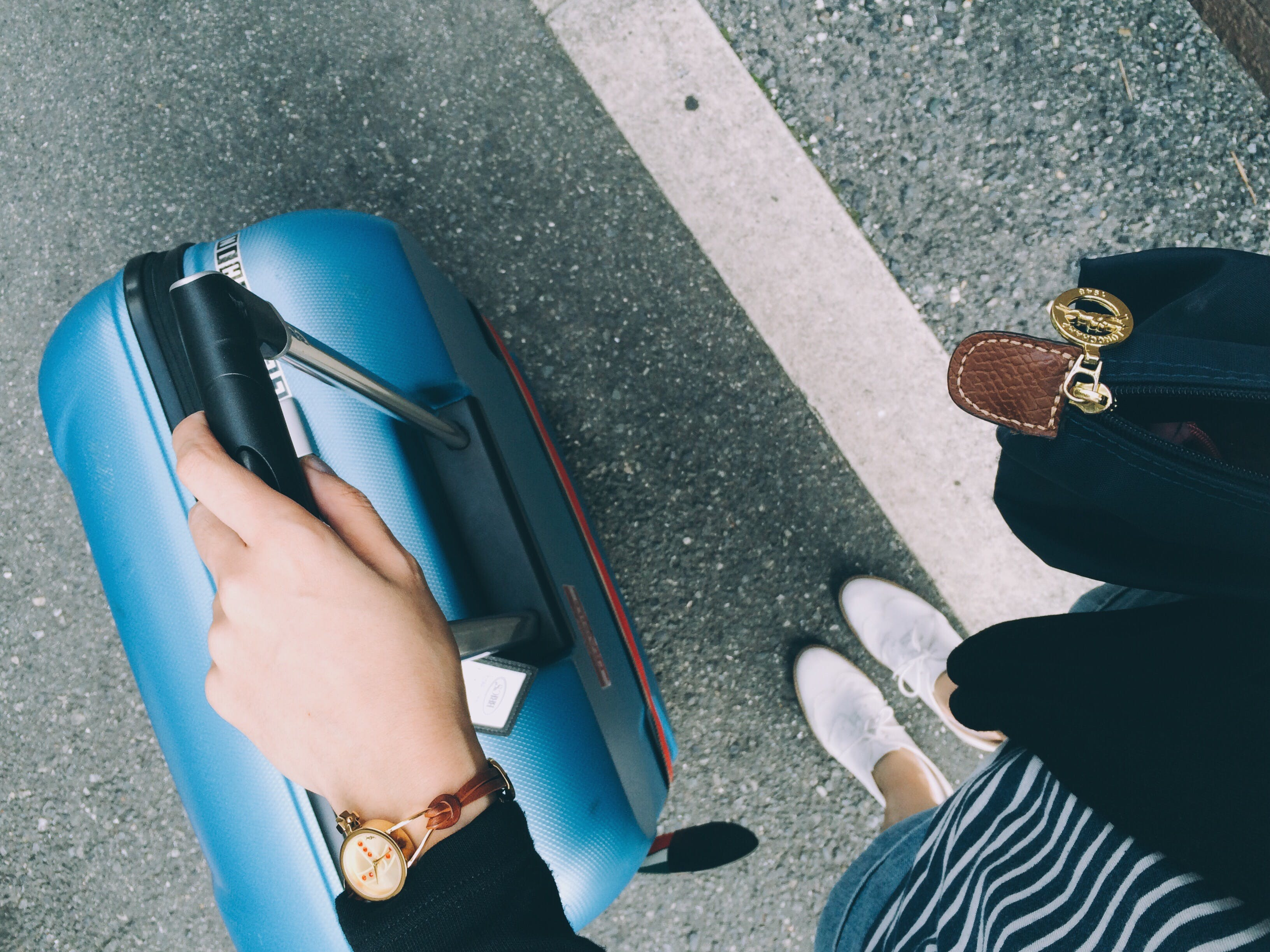 check your bags solo lady travel ideas