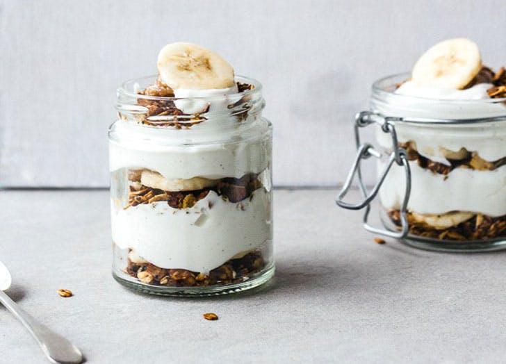 clean dessert banoffeeparfait