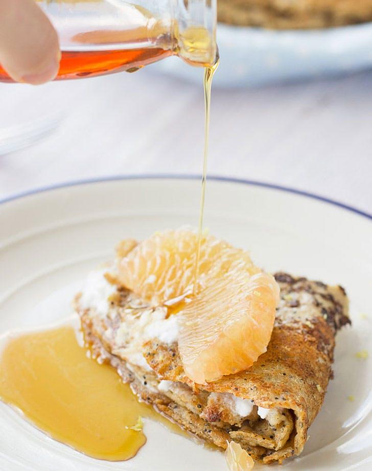 clean dessert crepes