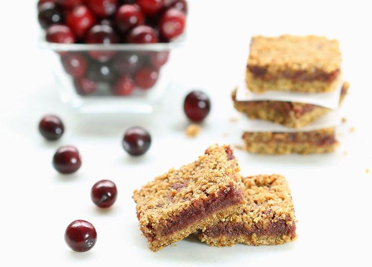 clean desserts cranberrybar