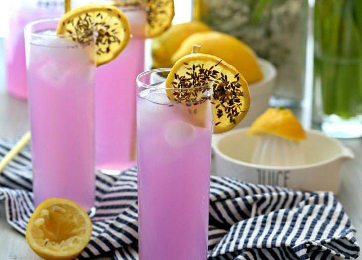 cocktails lavender