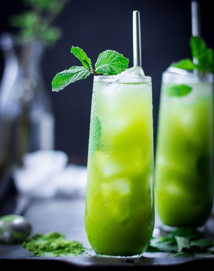 cocktails matchajulep
