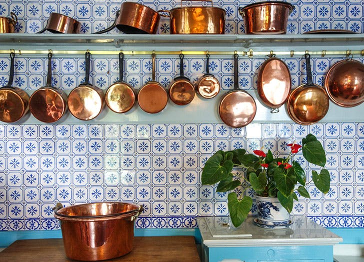 copper pans things on sale in april