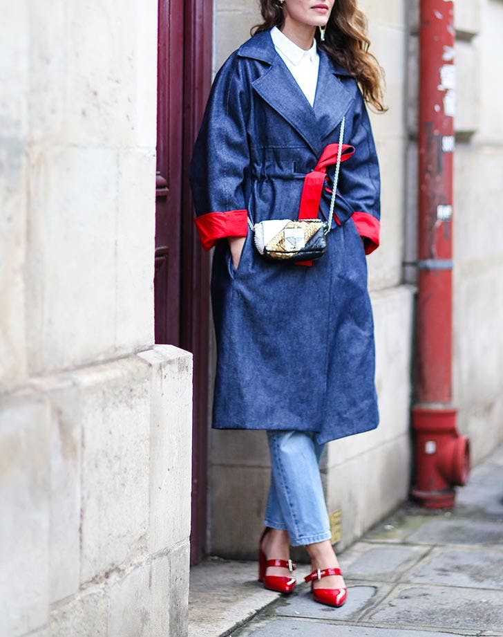 denim trench NY