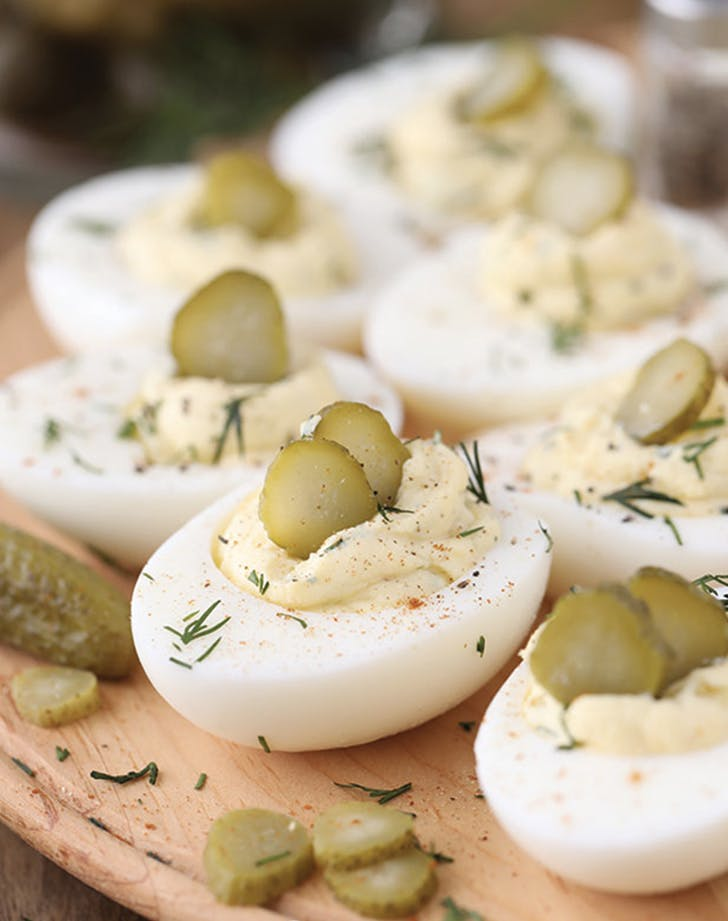 deviled eggs pickles