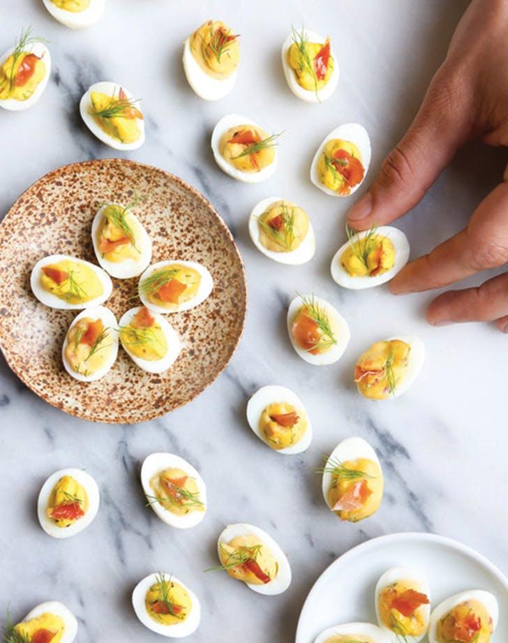 deviled eggs quail