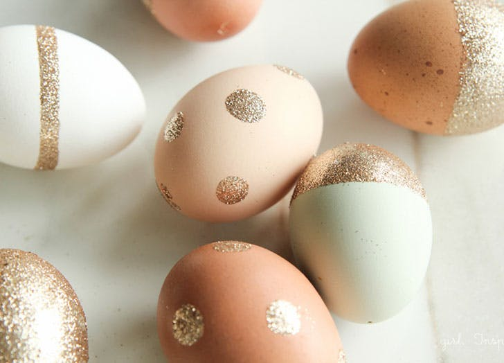 15 Pretty Easter Egg Decorating Ideas Purewow