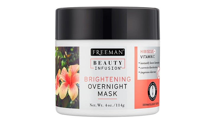 freeman beauty infusion brightening overnight mask fake sleep chicago