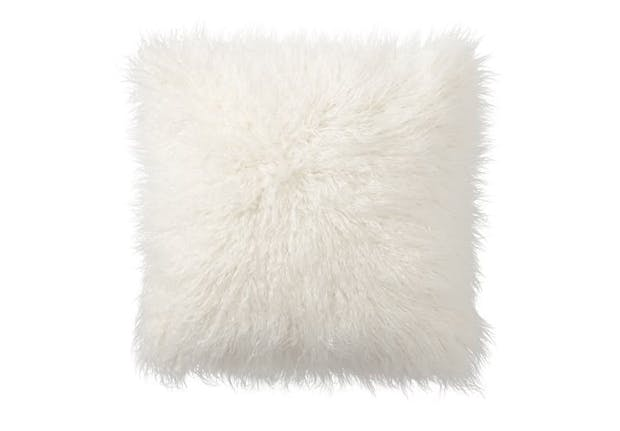 furry pillow