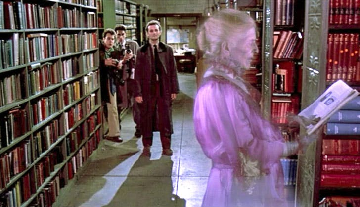 ghostbusters library NY