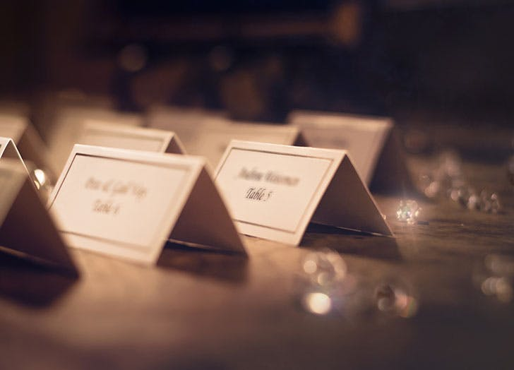 guest list fights during engagement