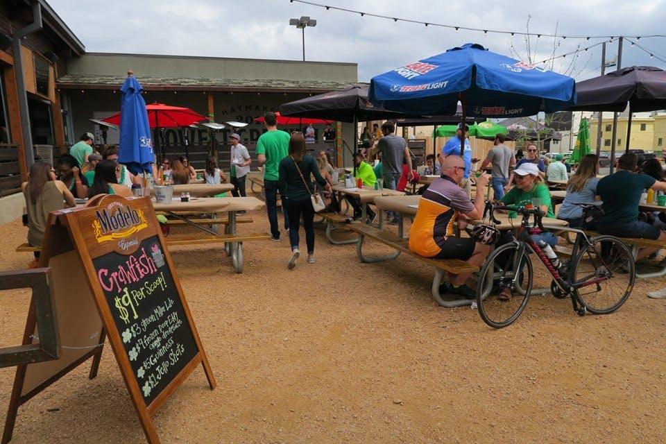haymaker dallas patio bars
