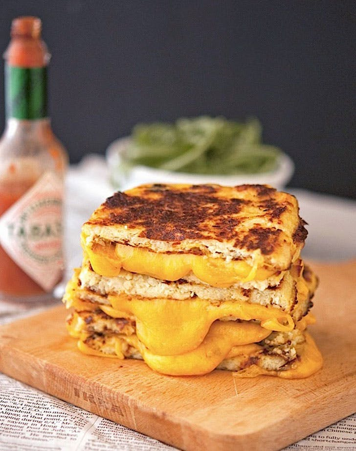 healthy comfortfood cauligrilledcheese