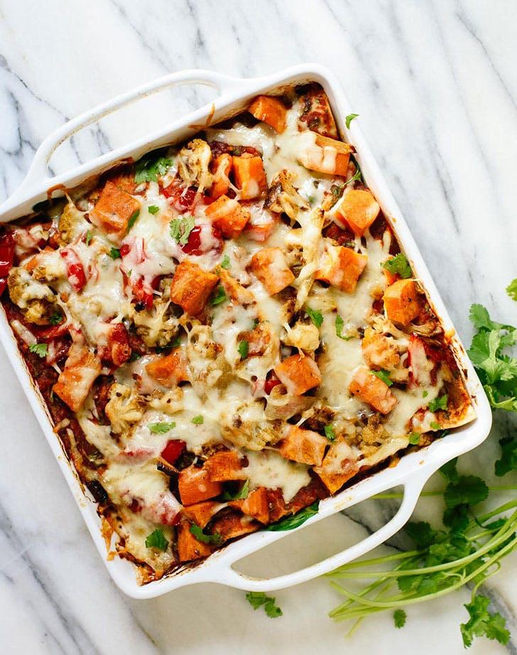 healthy comfortfood enchiladacasserole