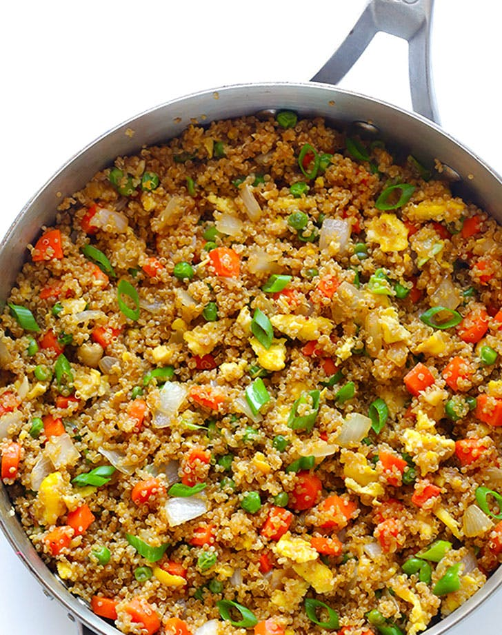 healthy comfortfood quinoarice