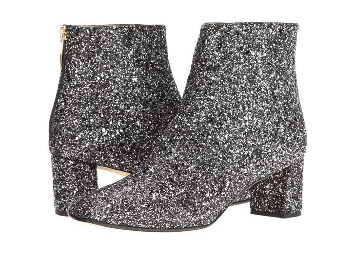kate spade glitter ankle boots NY