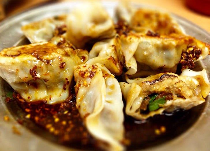 lam zhou handmade noodle dumplings NY