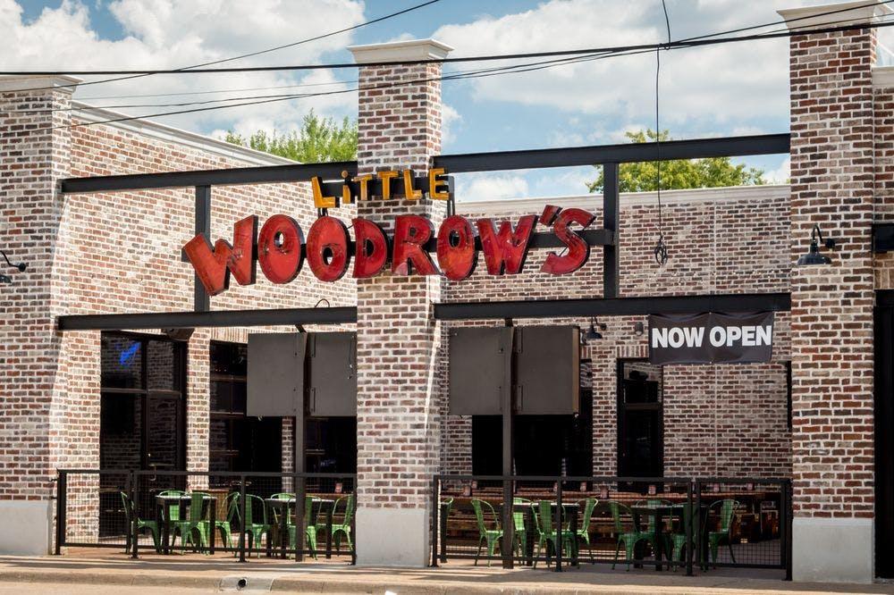 little woodrows dallas patio bars