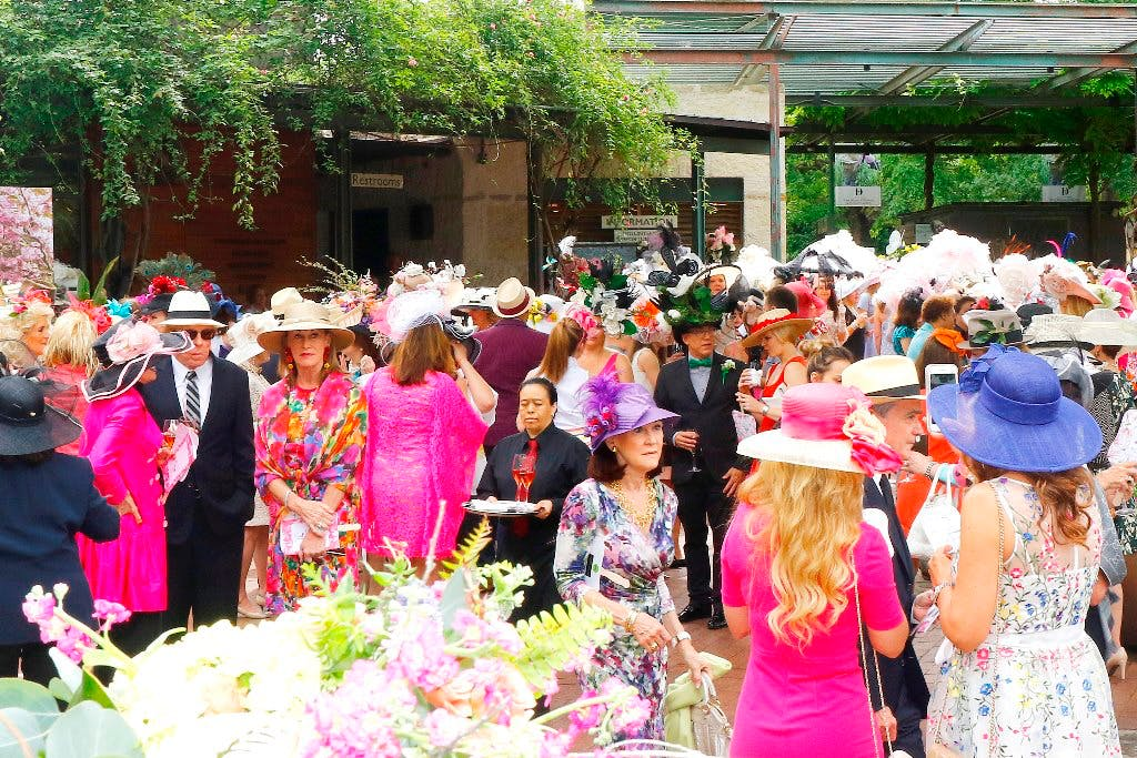 mad hatters tea arboretum botanical gardens dallas spring events activities