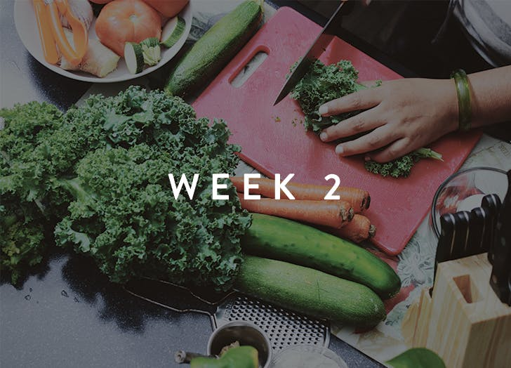 meal prep week 2