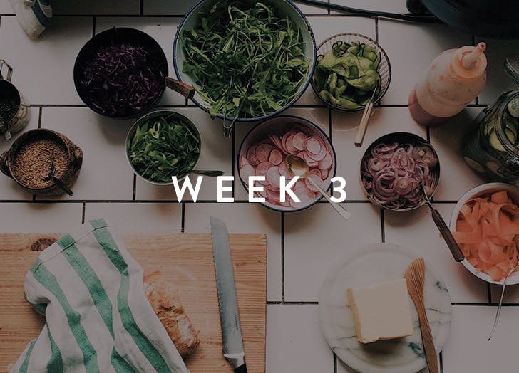 meal prep week 3