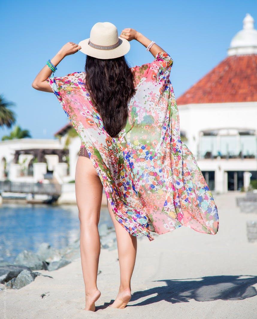 miami wardrobe staples beach cover up