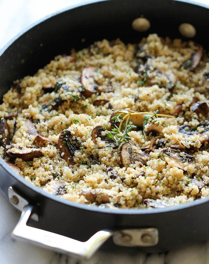 mood dinner mushroomquinoa