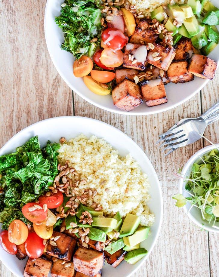 mood dinner tofubowl