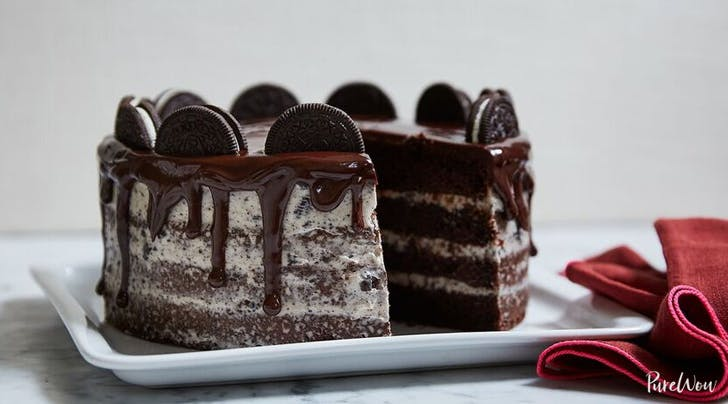 Cookies-and-Cream Naked Cake