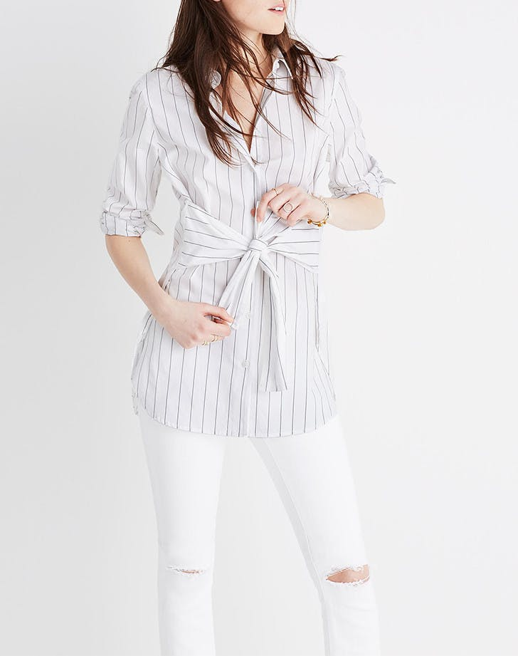 new button down shirts madewell
