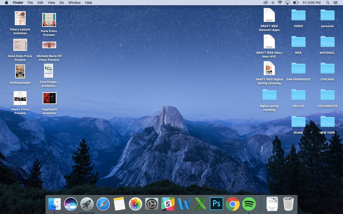 organize your desktop