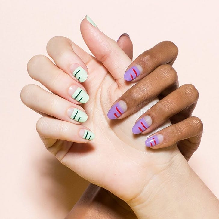 paintbox spring nail art NY