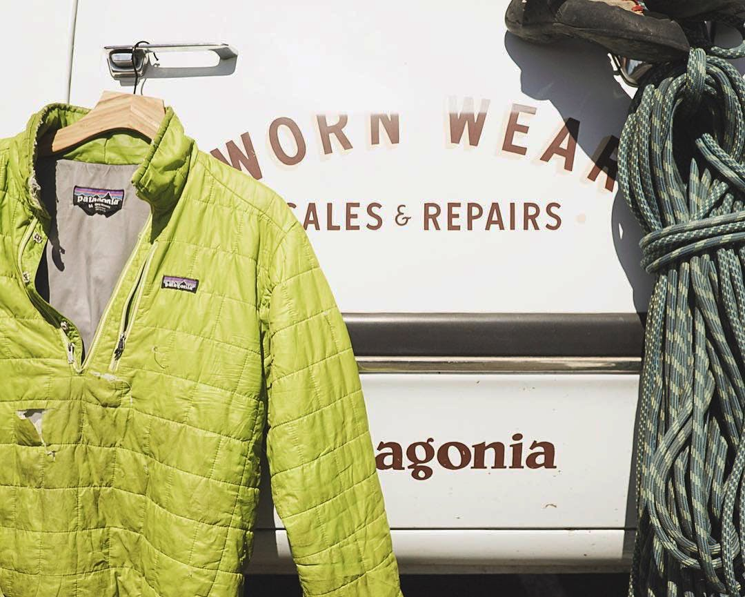 patagoania clothing donations recylcing