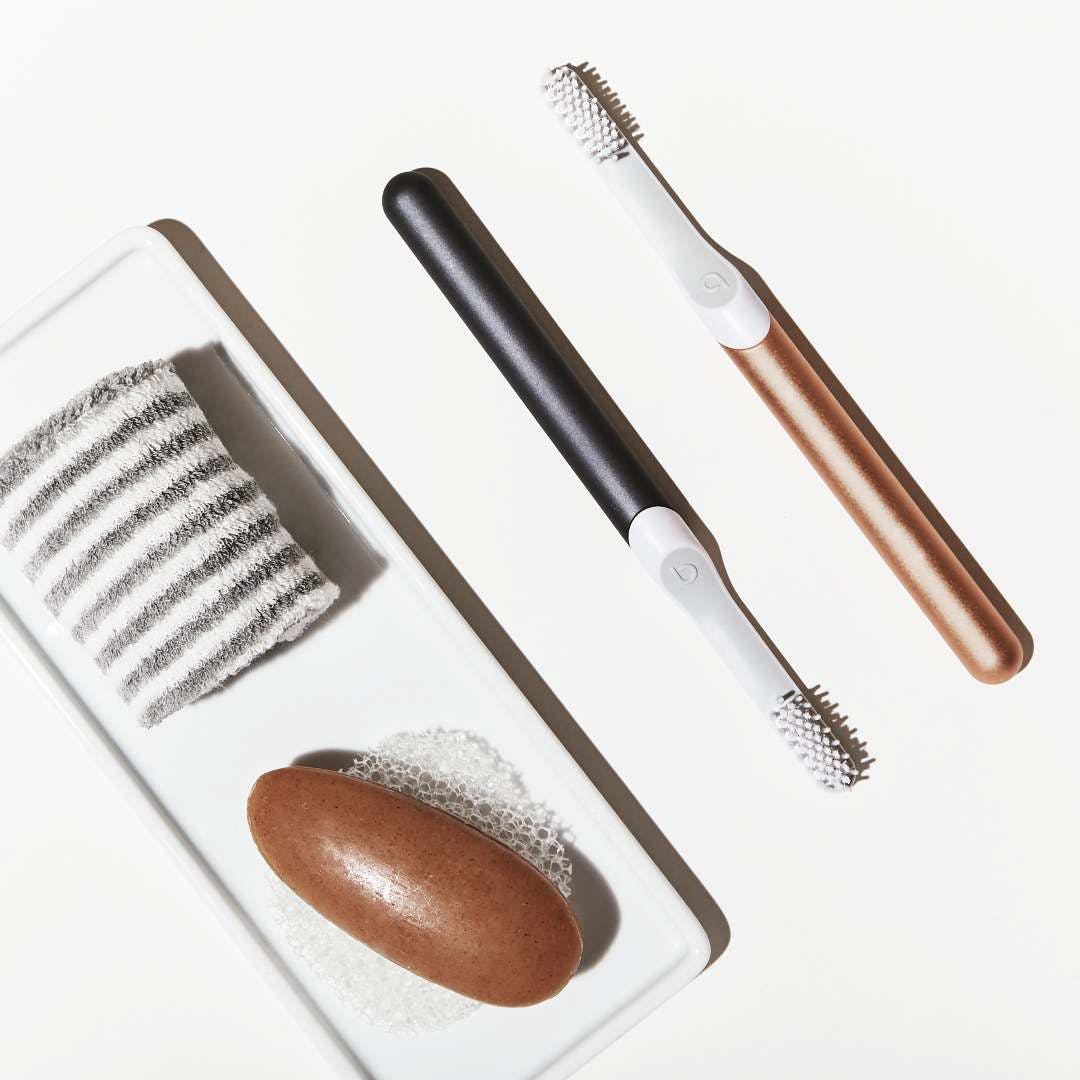 quip toothbrush los angeles beauty routine
