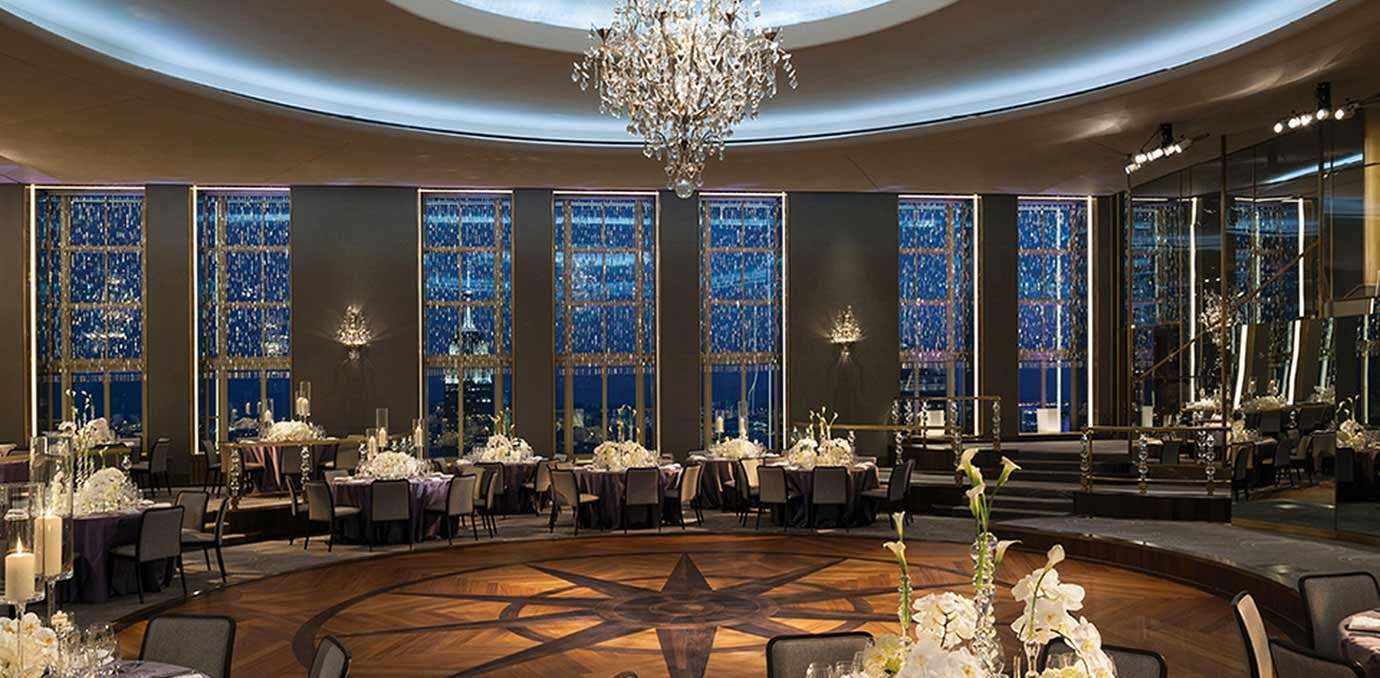 The prettiest wedding venues in nyc purewow rainbow room junglespirit Choice Image