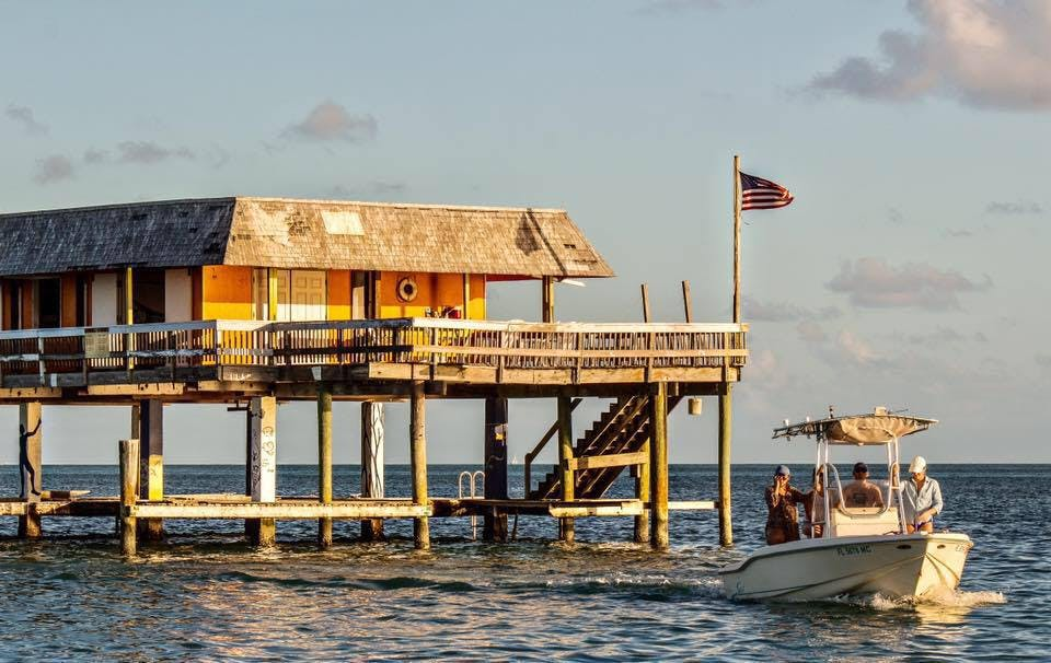 sail from biscayne bay to stiltsville miami toursit attractions