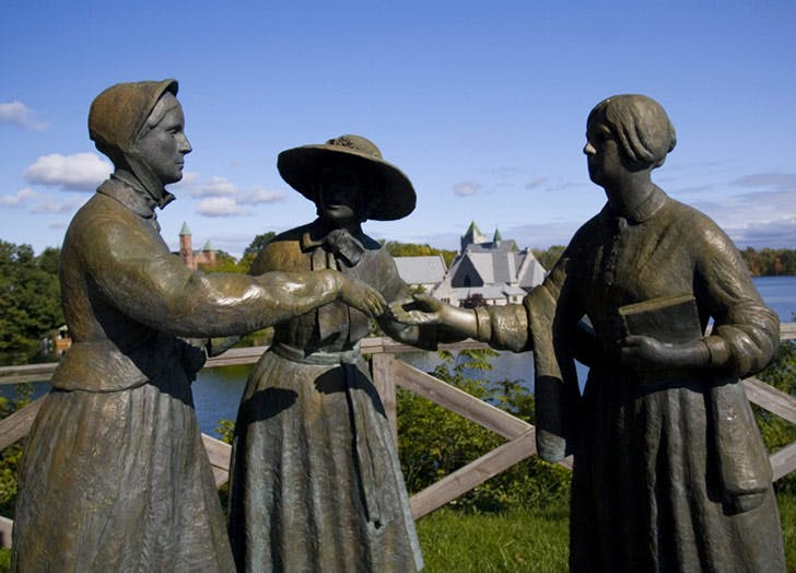 seneca falls women statue 2 NY